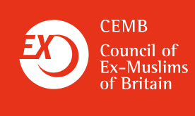 Council of Ex-Muslims of Britain Retina Logo