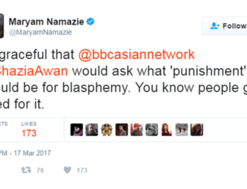 Attacks on freethinkers and the celebration of apostasy and blasphemy